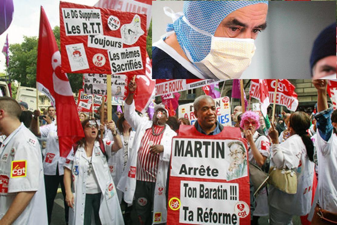Hôpital public/Assurance maladie: soutien à la manifestation nationale du 7 mars!