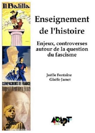 L'enseignement de l'histoire: un enjeu de lutte - CONFERENCE-DEBAT