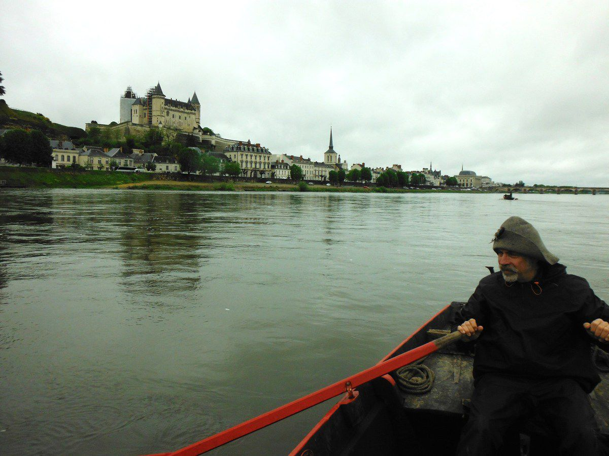 Saumur en vue ! (photo Fred Mourier)