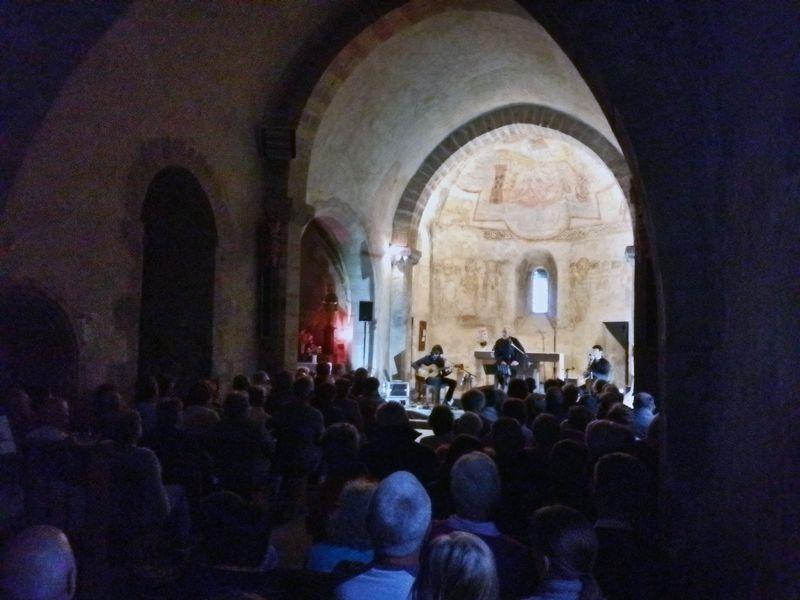 Concert gratuit à Novacelles samedi 20 juin