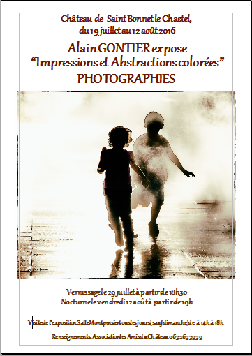 Exposition photographies &quot&#x3B;Impressions et abstractions colorées&quot&#x3B;