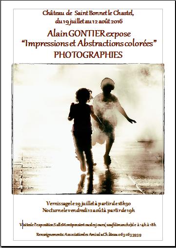 """Exposition photographies """"Impressions et abstractions colorées"""""""