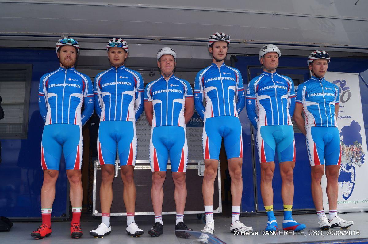2016 05 20 Présentation des équipes à DOUCHY-LES-MINES