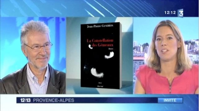 Jean-Pierre Cendron à France 3 pour Constelation des Gémeaux