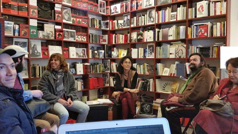Christine Matos à la librairie l'Atinoir