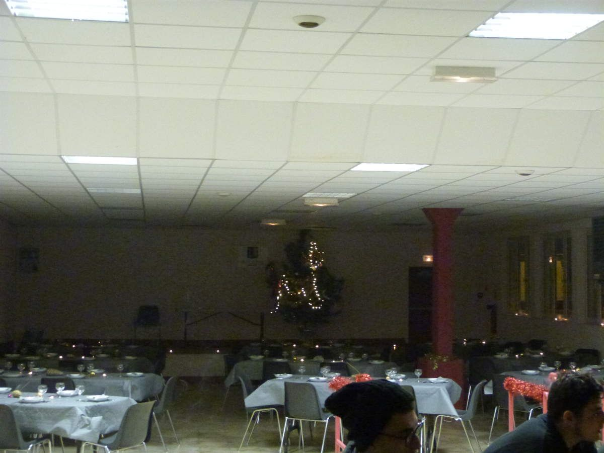 La salle Jean Barth maginfiquement décorée