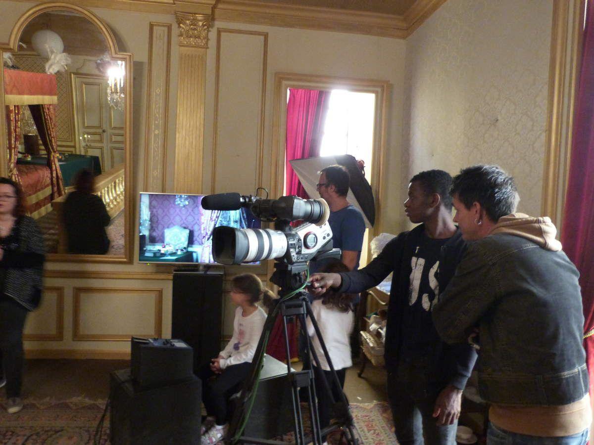 """La salle qui a servi au tournage du film """"La mort de Louis XIV"""