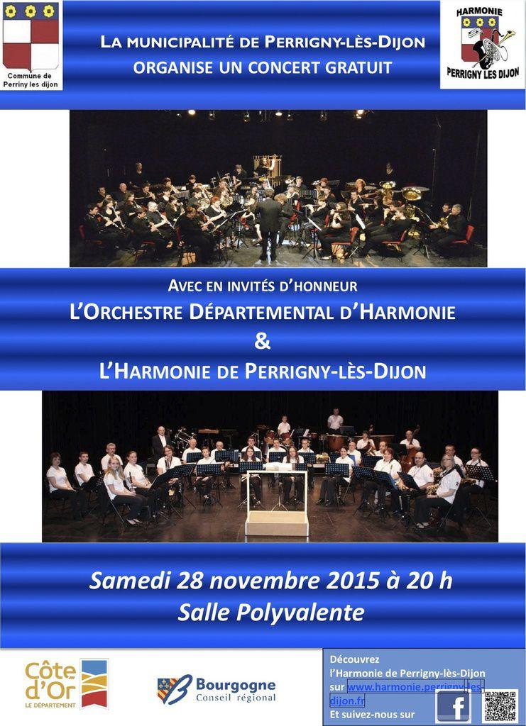 Concert de l'Orchestre départemental