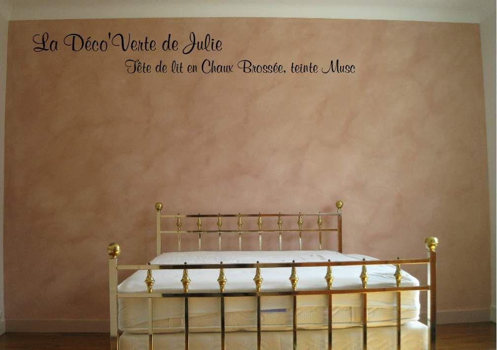 La chaux brossée offre un aspect nuageux idéal dans les chambres pour une ambiance de rêve