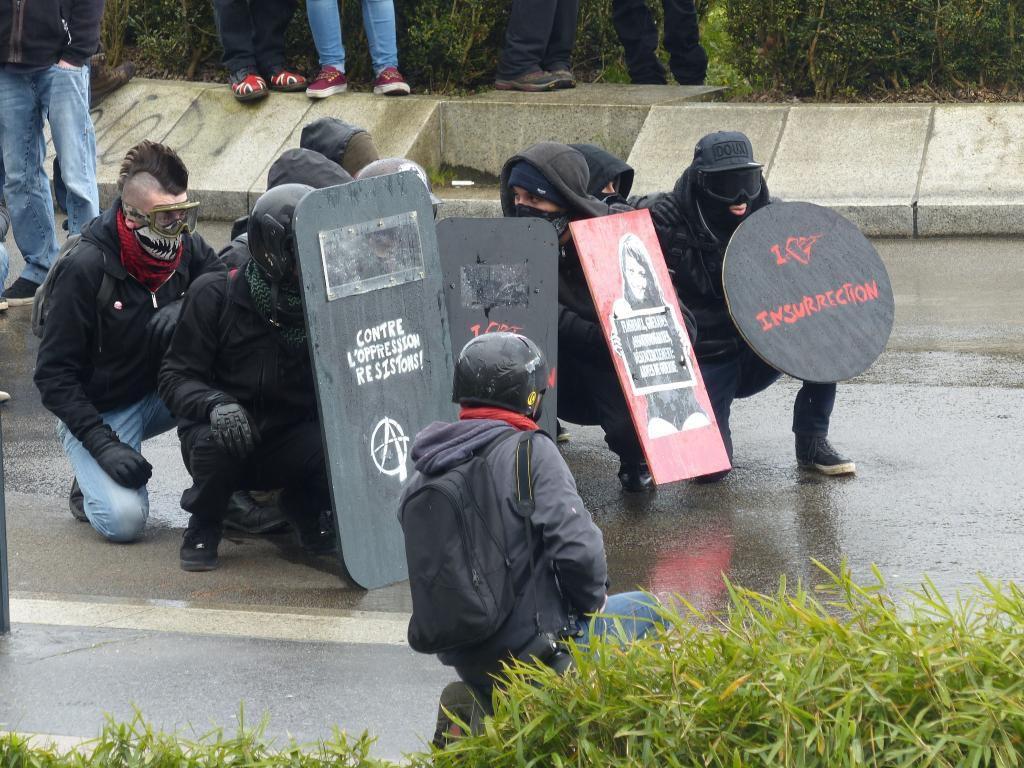 Manifestation du 21 février à Nantes