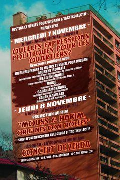 C'était il y a 4 ans avec Zebda à Clermont en Hommage à Wissam