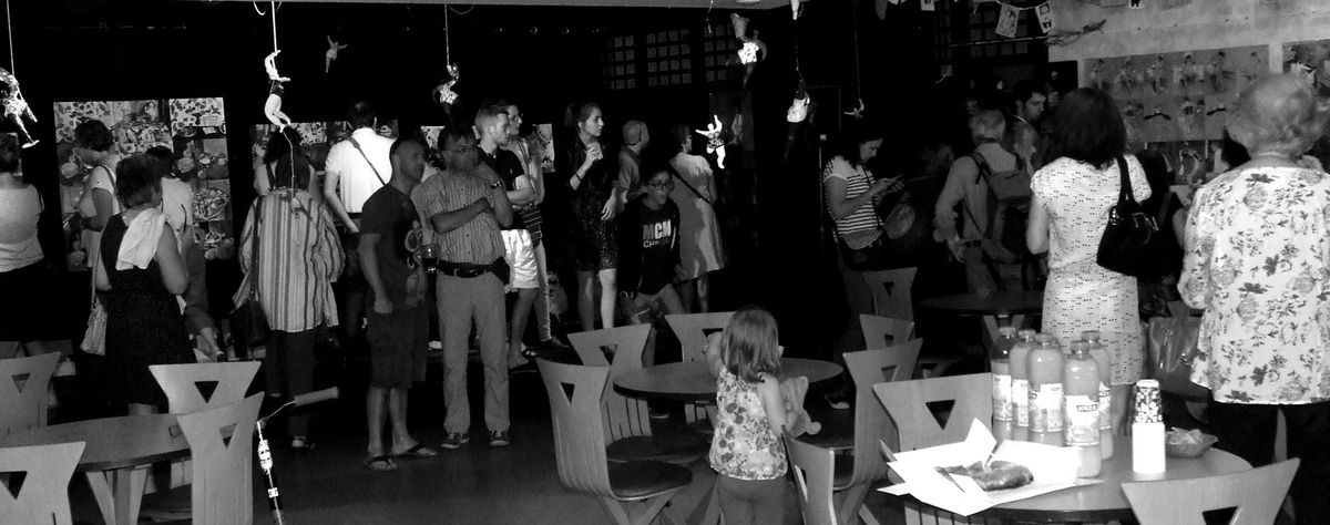 """Diaporama expo Arts & Co de fin d'année au PIXIE Lannion. Thématique ; """"à la manière de"""". 05/15"""