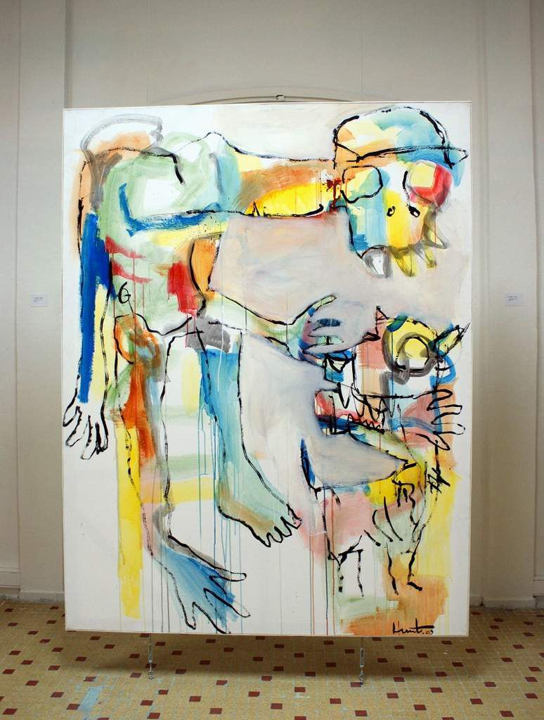 Maitre-Chien, 2009, 200 x 154 cm, Collection Art Public Guadeloupe