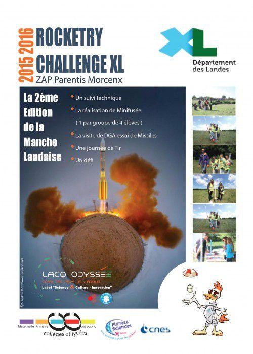 """Le Spatiobus à la Manche Landaise du """"Rocketry Challenge"""""""