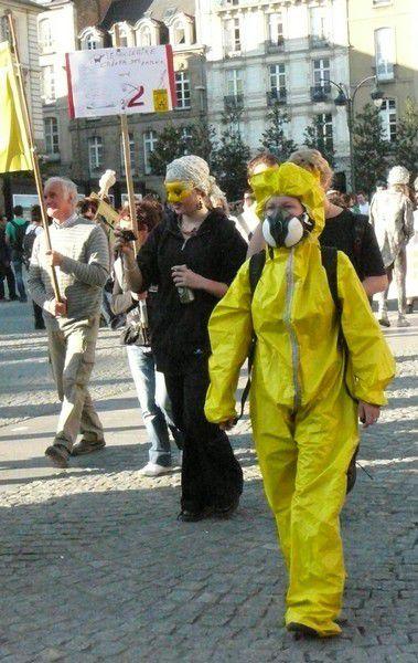 Manifestation à Rennes