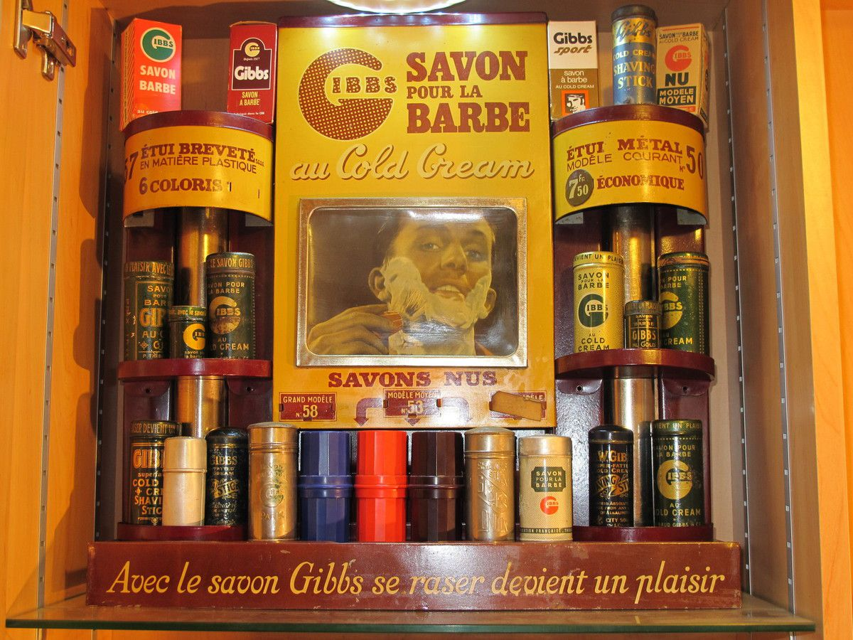collection de savon a barbe