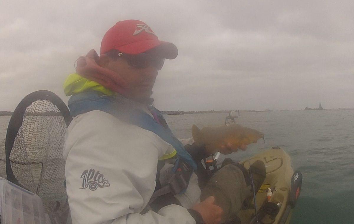 Sea Kayak Fishing, Roscoff.