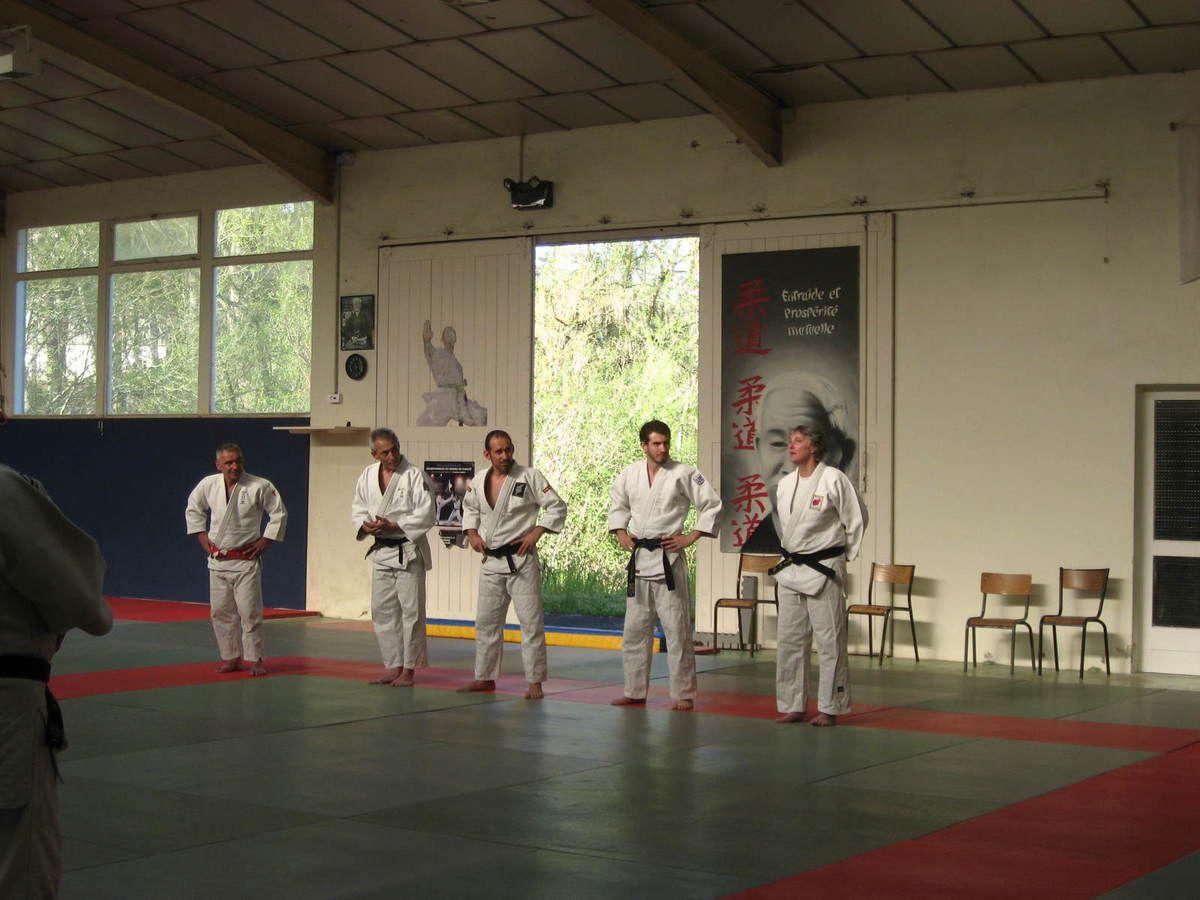 entrainement avec Laurian et René