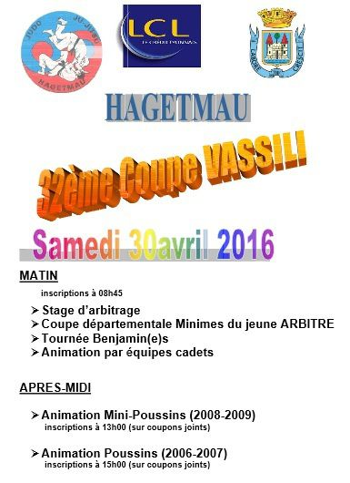 coupe vassili - 30 avril 2016