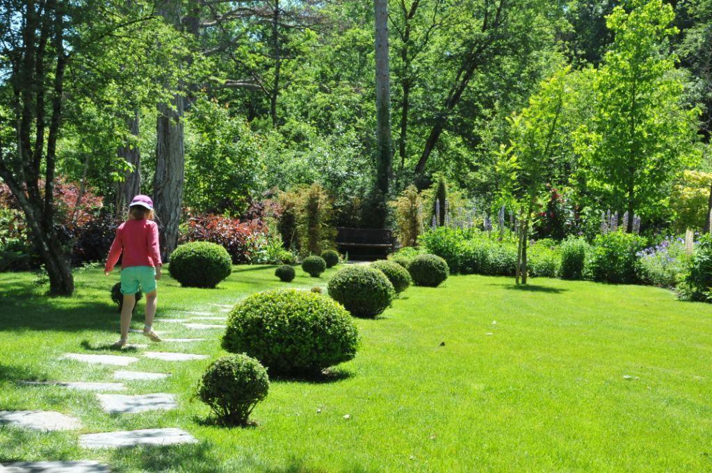 Jardin anglais, printemps français