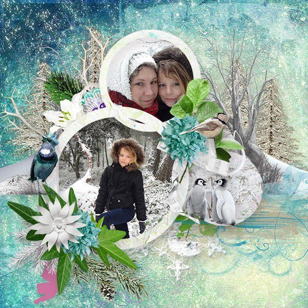 KIT MAGIC SNOW QUEEN WINTERLAND ET DERIVES