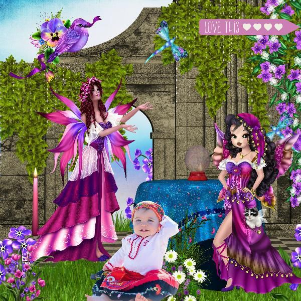 KIT GYPSY FAIRY TALE &amp&#x3B; DERIVES