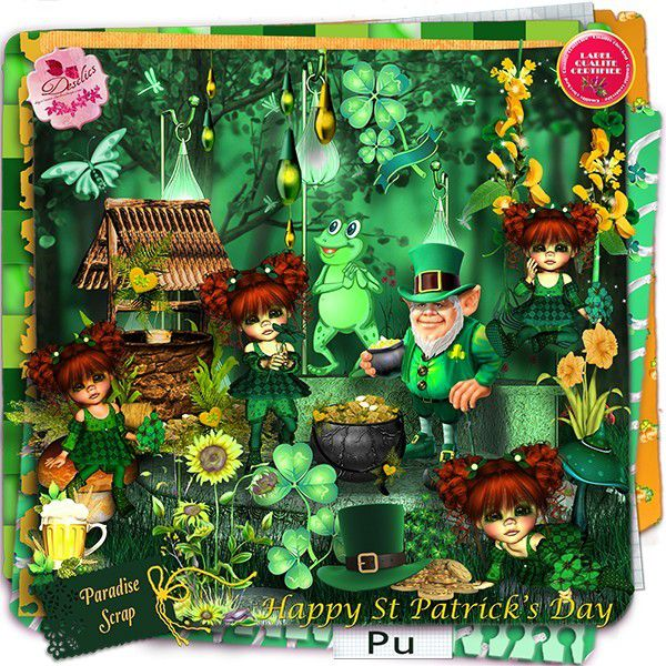 Kit HAPPY ST PATRICK'S DAY