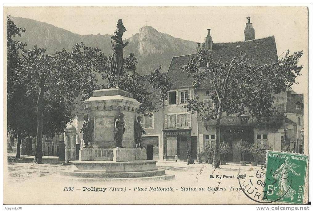 Statue du général Travot