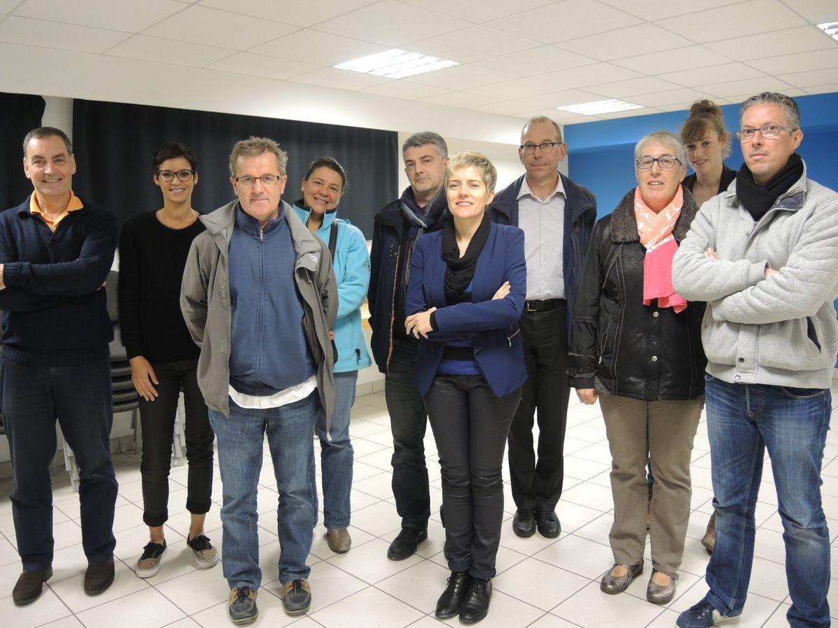 Membres de La Pontivyenne - AG du vendredi 10 mai 2015