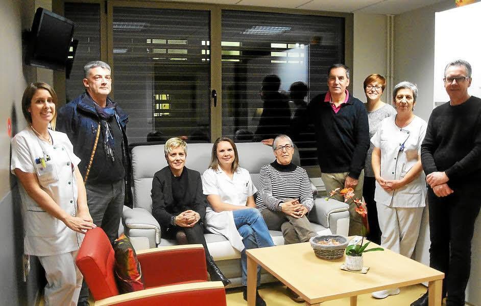 Membres de La Pontivyenne et équipe dirigeante de Hemera - Centre hospitalier Centre-Bretagne (CHCB) Kério