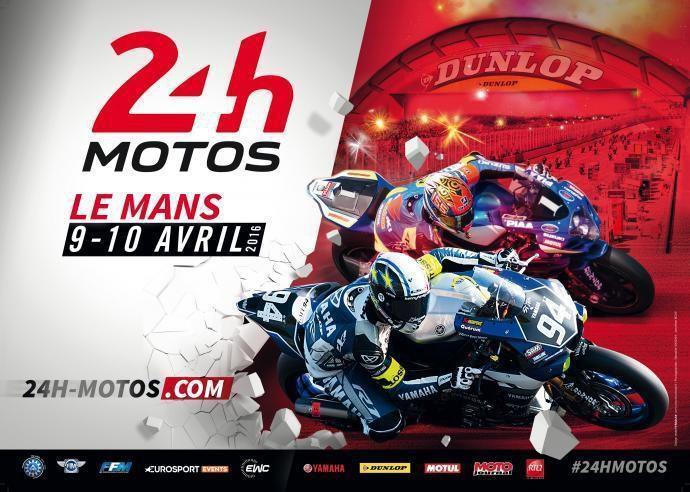 Olivier Depoorter - 24h Mans Moto 2016