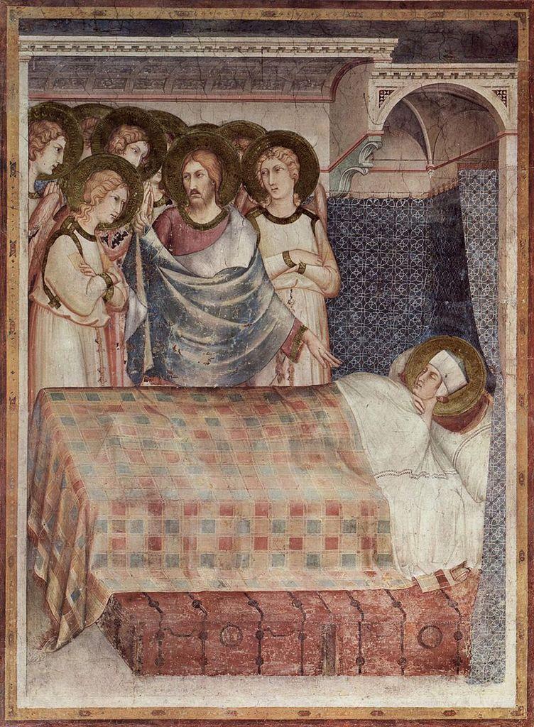 Mort de Saint Martin (Simeone Martini