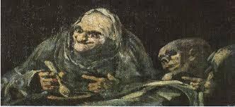 Fresque (Peintures Noires de Goya) XVIII°)