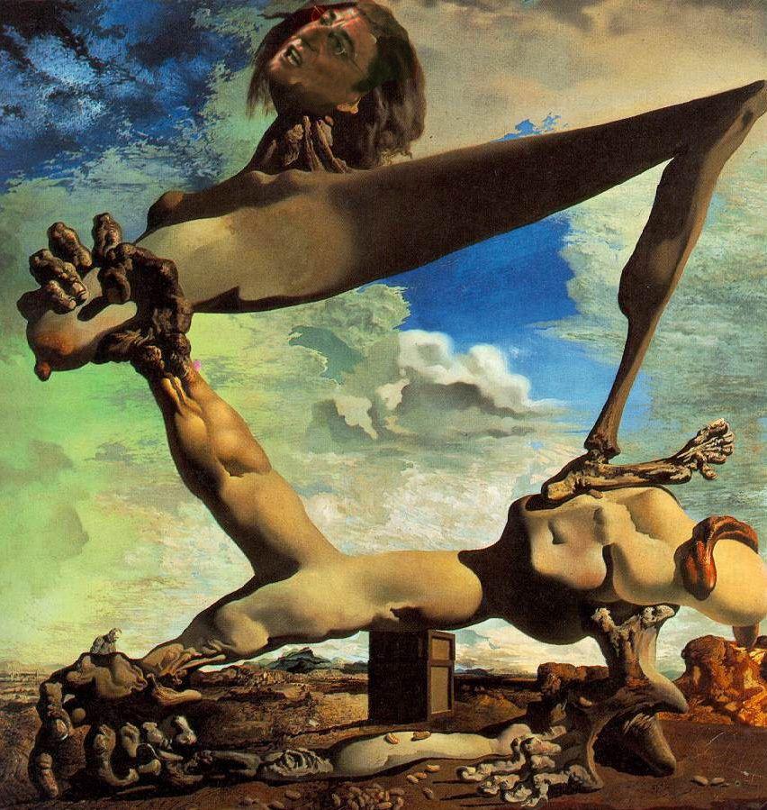 Prémonition de la guerre civile (Dalí - 1936)
