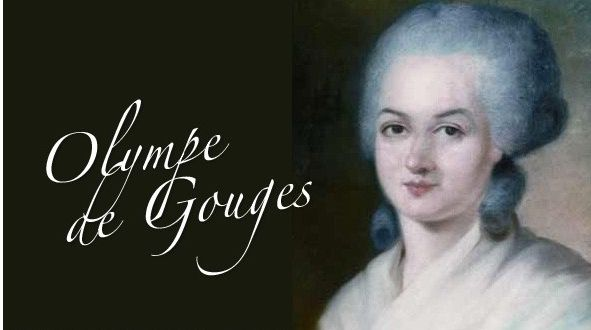 Portrait officiel d'Olympe de Gouges