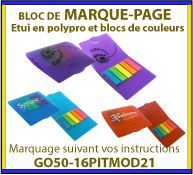 Images GOVA - Post-it et marque page publicitaires