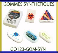 Collection de gommes synthetiques GO123-GomSyn