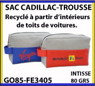 Trousse Cadillac en matiere recyclee issue de l industrie automobile GO85 FE3405