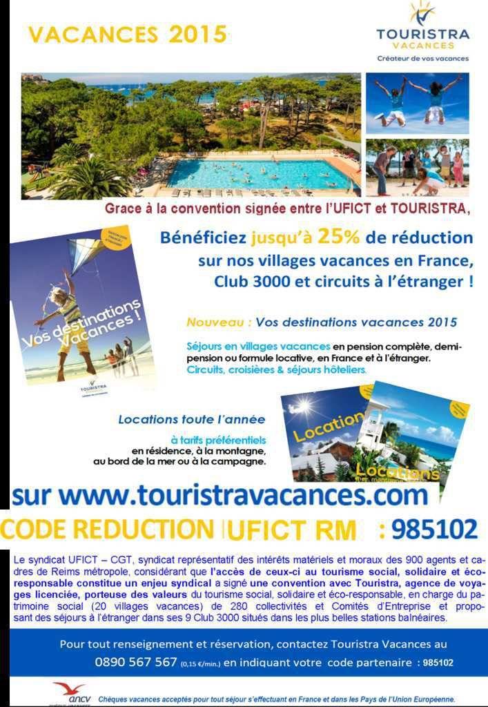 Promotions Morzine, La Plagne-Montalbert et Mont Dore, dans le cadre du partenariat UFICT - Touristra