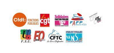Loi déontologie, Les syndicats de la Fonction Publique adresse un courrier unitaire à la Ministre de la Fonction Publique