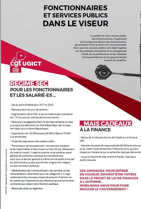5bde0af7253 Fonctionnaires et services publics dans le collimateur de Macron