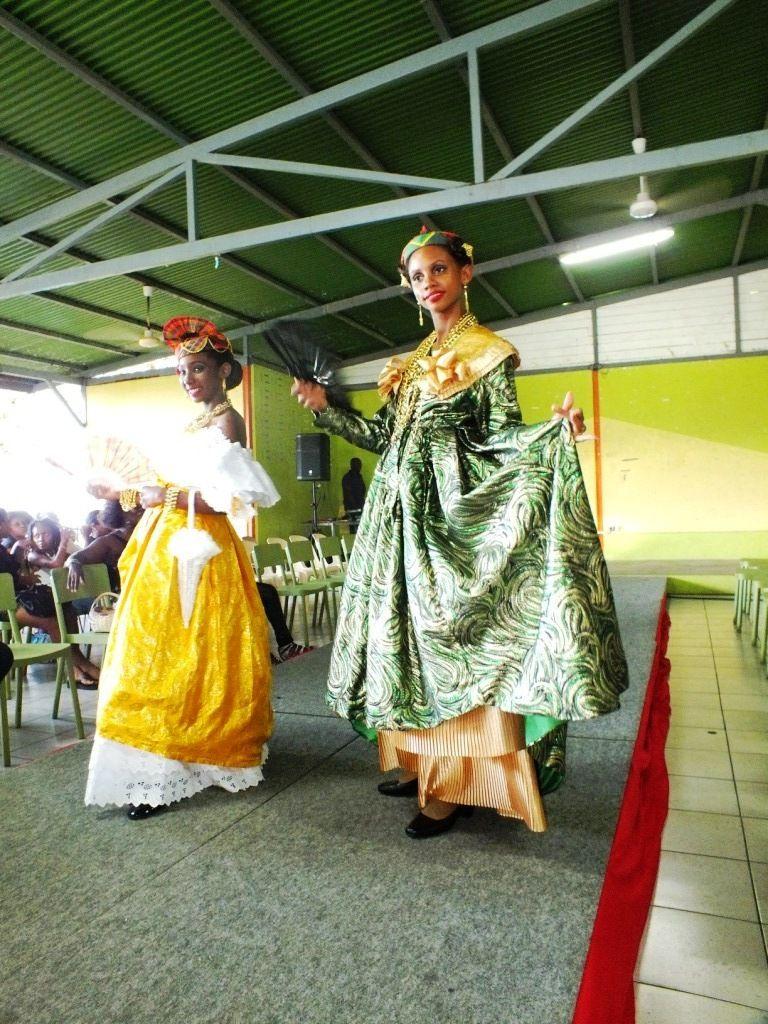 Carnaval 2016 - Aurore et Taïhys, Reine et mini Reine du Marigot