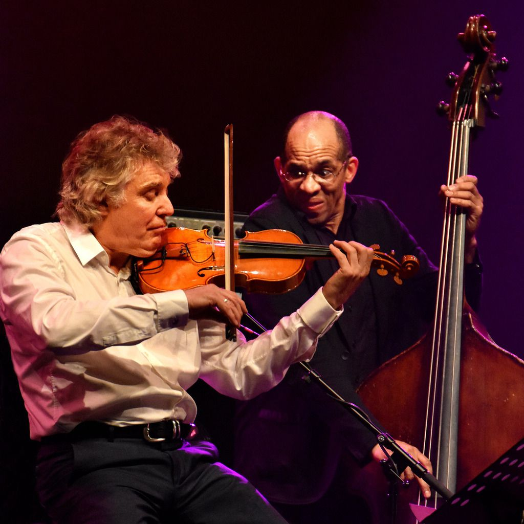 Didier Lockwood et Darry Hall  -  Larry Garner