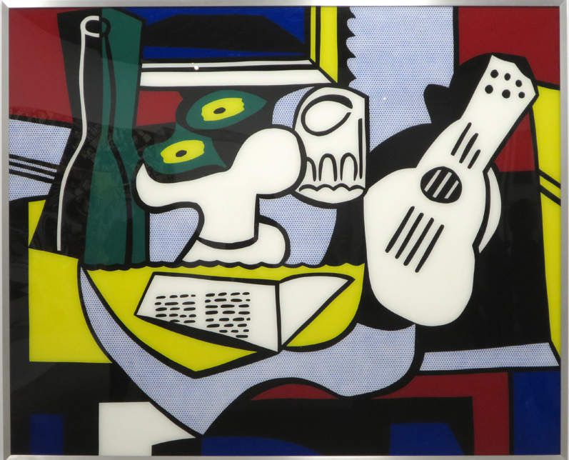 Roy Lichtenstein , Still Life after Picasso - 1964    / © Jacques  Masse