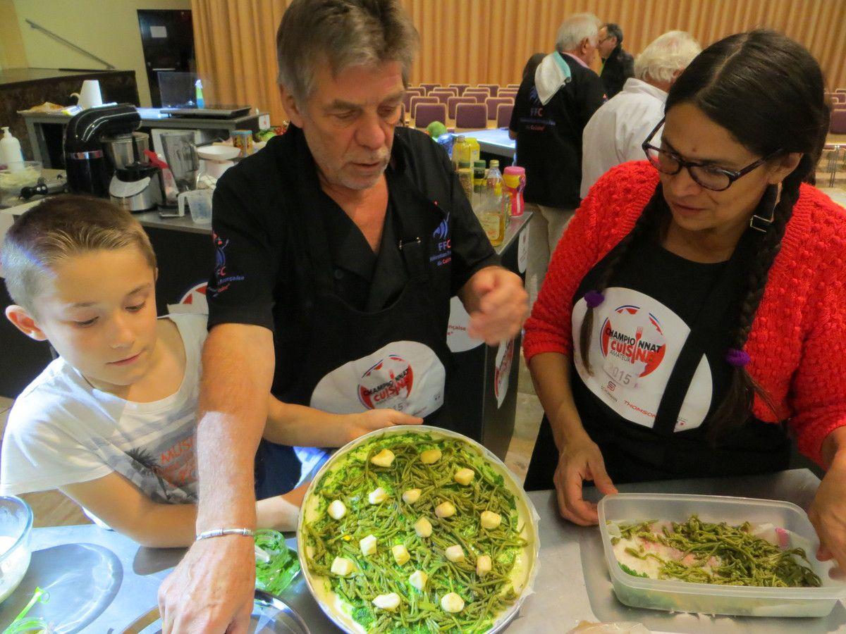 Recettes du dimanche, championnats de cuisine à Gaillard