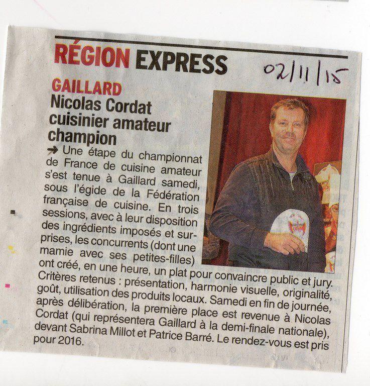 Championnats de France de cuisine amateur