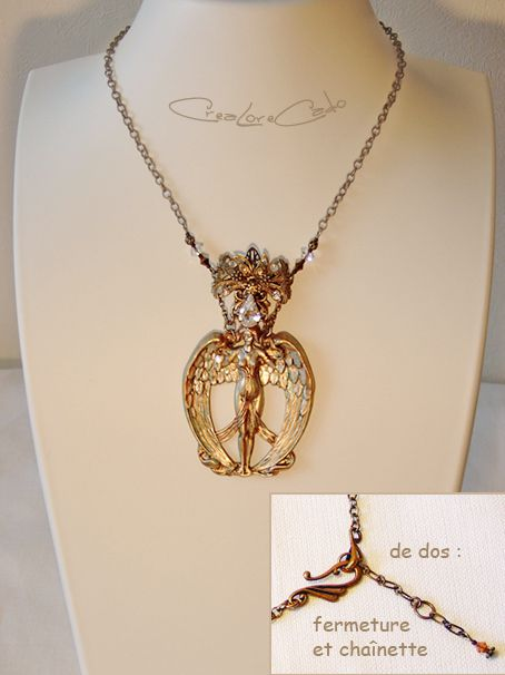 Collier Art Nouveau Lore M