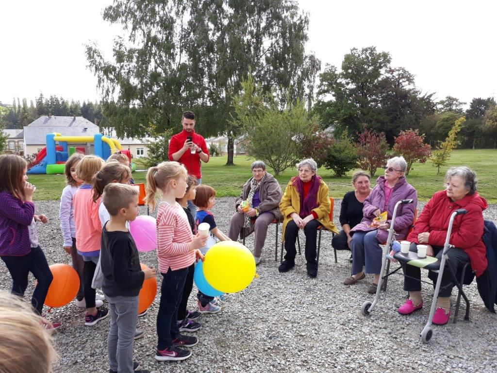 Association Bulle d'Air : Inauguration des structures gonflables
