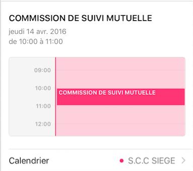 Information : COMMISSION DE SUIVI MUTUELLE
