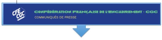 La position de la CFE-CGC : Stoppez les blocages !
